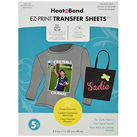 Heat'n Bond EZ Print Transfer Sheet, 8.5
