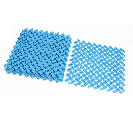 Home Floor Square Plastic Water Resistant Anti Slip Shower