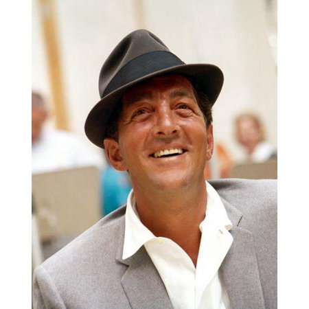 Dean Metal (Dean Martin Fedora Metal Sign 8inx 12in)