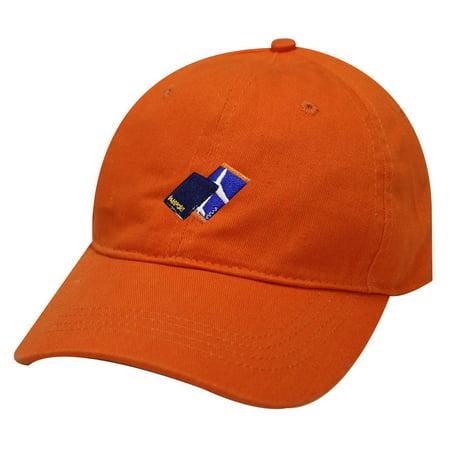 City Hunter C104 Passport with Flight Ticket Cotton Baseball Dad Cap 19 Colors (Orange)