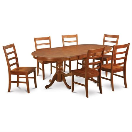 sbr w 7 piece dining table set dining room table and 6 kitchen chairs