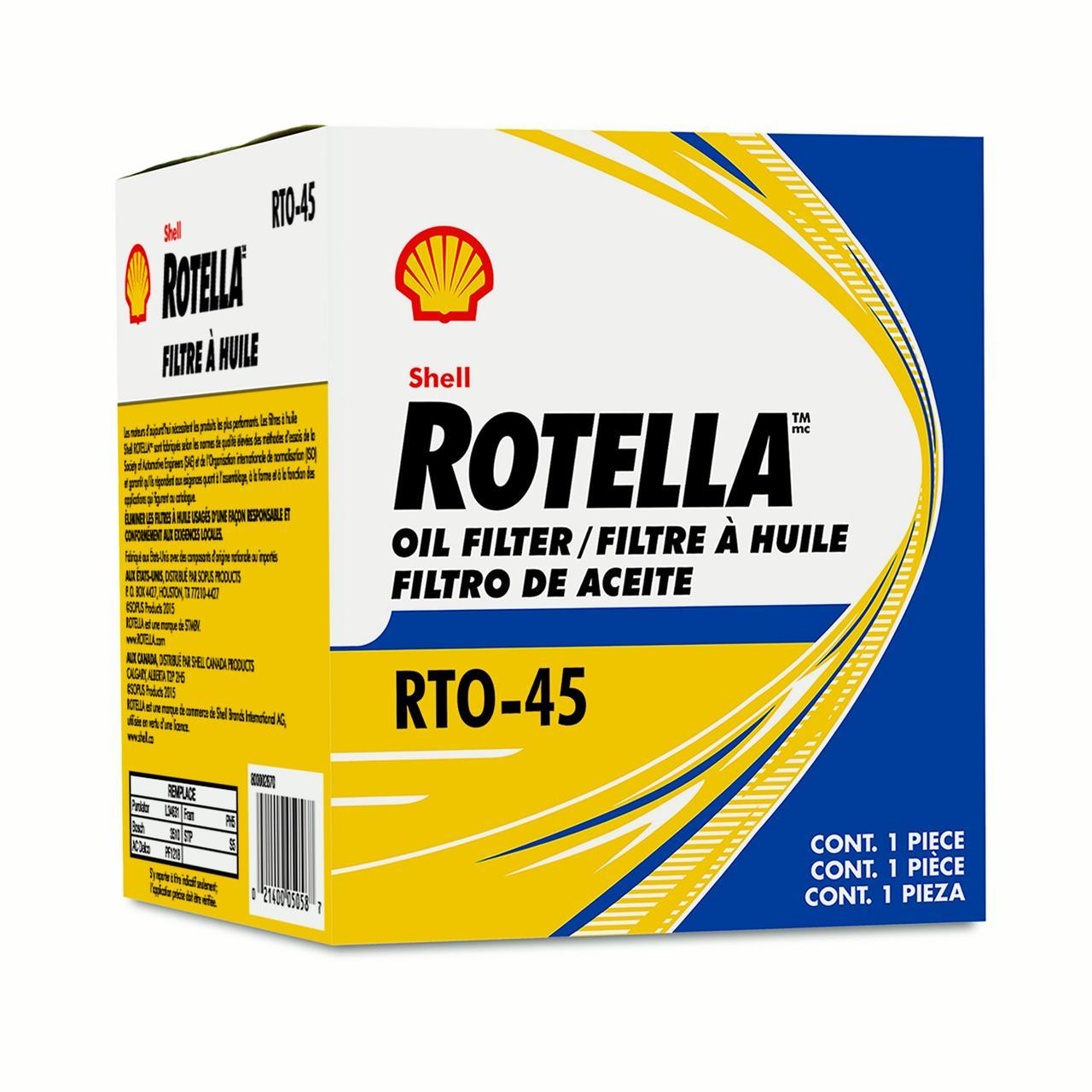 Shell Rotella Oil Filter RTO45