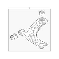 Genuine OE Audi Control Arm 5Q0-407-152-R