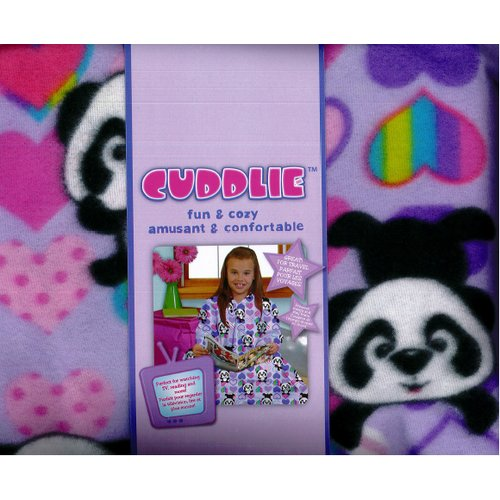 Linen Depot Direct Fun and Cozy Kid Cuddlie Blanket