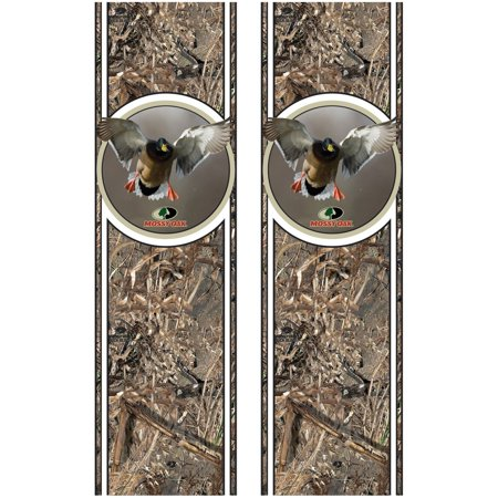 Mossy Oak Graphics 12007-DB Duck Blind Rear Quarter Panel Graphics Kit with Waterfowl Camaro Rear Quarter Panel