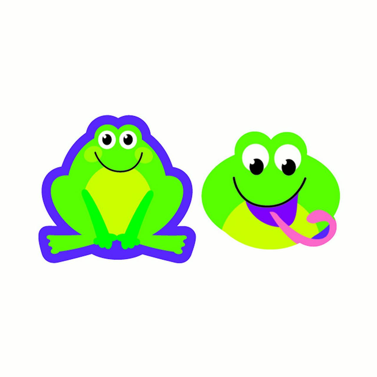 Trend Supershapes Stickers - Frog Frenzy