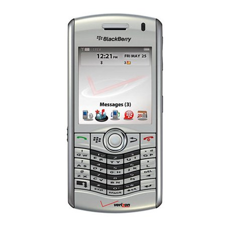 BlackBerry Pearl 8130 Replica Dummy Phone / Toy Phone (Silver) (Bulk - Blackberry Themes Pearl