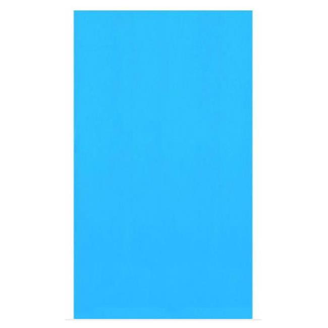 Blue Wave NL217-20 12' x 24' Oval 20 Ga.  Blue Overlap Liner