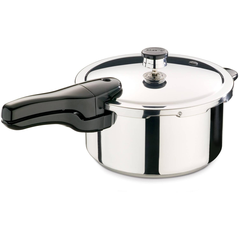 Presto 4-Quart Stainless Steel Pressure Cooker 01341