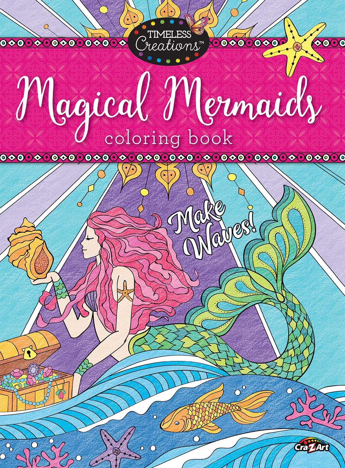 - Cra-Z-Art Timeless Creations Coloring Book, Magical Mermaids