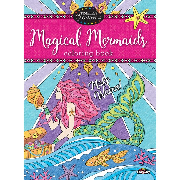 Cra-Z-Art Timeless Creations Coloring Book, Magical ...