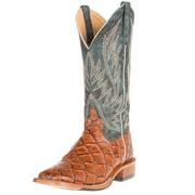 Horse Power Mens   cognac Siletsofish seas the day top cowboy boots