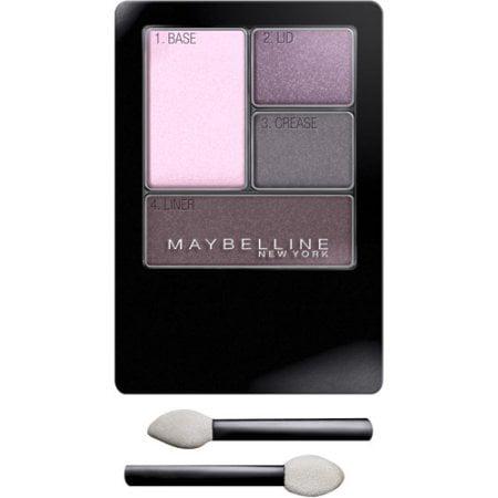 Maybelline Expert Wear Eyeshadow Quads, Lavender Smokes