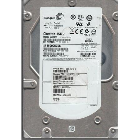 600 Gb Drives - ST3600057SS, 3SL, AMKSPR, PN 9FN066-038, FW NA00, Seagate 600GB SAS 3.5 Hard Drive