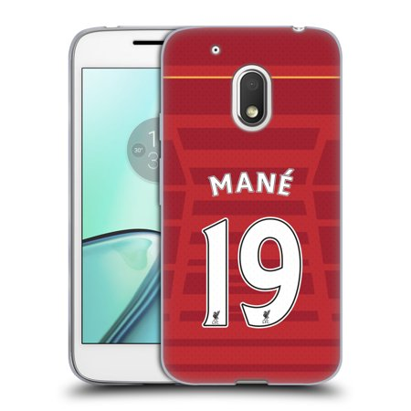OFFICIAL LIVERPOOL FOOTBALL CLUB PLAYERS HOME KIT 16/17 2 SOFT GEL CASE FOR MOTOROLA PHONES