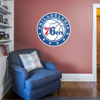 Fathead Philadelphia 76ers: Logo - Giant Officially Licensed NBA Removable Wall Decal