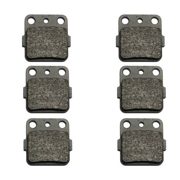 1999-2008 Honda Sportrax 400 TRX400EX 2x4 Kevlar Front & Rear Brake Pads by Volar Motorsport