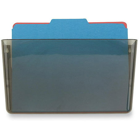 Officemate OIC Wall File, Letter Size, Smoke (21431)