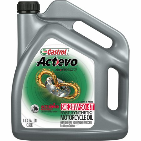 Castrol 03139C / 15A8DA Actevo X-Tra 4T Synthetic Blend - 20W50 - 1gal.
