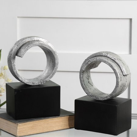 Uttermost Twist Bookends - Set of 2