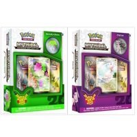 Pokemon TCG Mew and Shaymin Mythical Collection Box Bundle. 1 of Each Mythical Collection, including 2 Booster Packs from the Pokemon Generations 20th Anniversary Set and Rare Promo Card