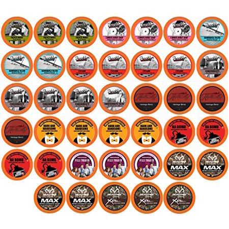Two Rivers Coffee, Bold Sampler, 40 Count Kcups