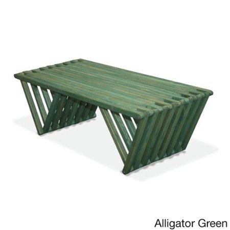 Eco Friendly Coffee Table X90 Made In Usa Alligator Green