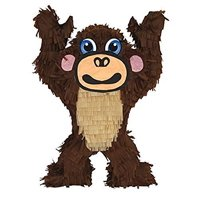 "Aztec Imports Monkey Pinata, 20"" Jungle - Zoo Party Game, Centerpiece Decoration and Photo Prop"