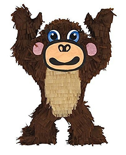 """Aztec Imports Monkey Pinata, 20"""" Jungle - Zoo Party Game, Centerpiece Decoration and Photo Prop"""