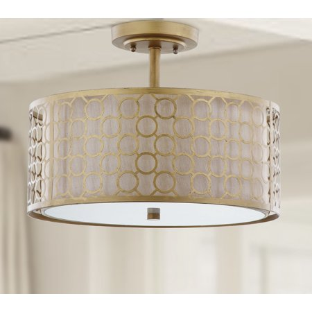 Gold Ceiling Light - Safavieh Giotta Ceiling Light, Antique Gold
