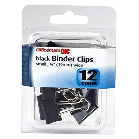 Business Source BSN65366 Petites pinces pour reliure en acier et zinc, noir, 40 unit-s - image 1 de 1