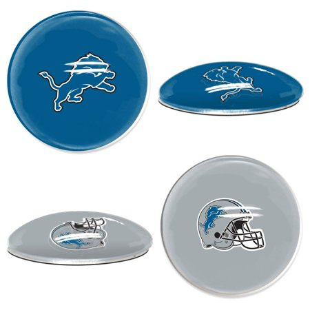 Detroit Lions Official NFL  Sport Dotts Magnet 2 Pack by Wincraft