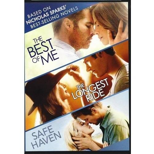 The Best Of Me / The Longest Ride / Safe Haven (Widescreen)