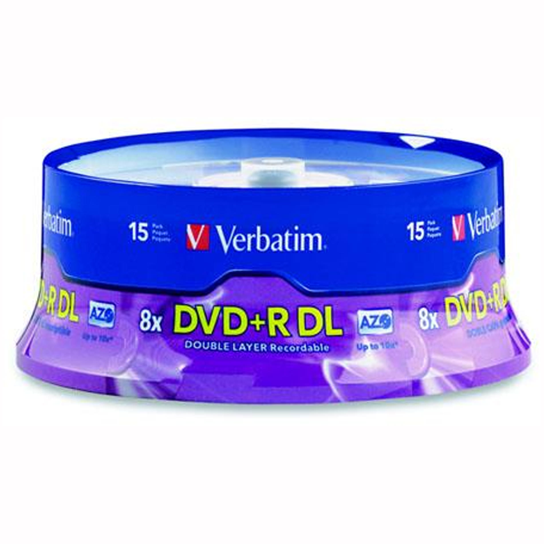 Verbatim DVD+R DL 8.5GB 8X with Branded Surface