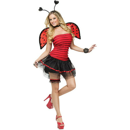 Ladybug Adult Halloween Costume - Lady Bug Costume Adult