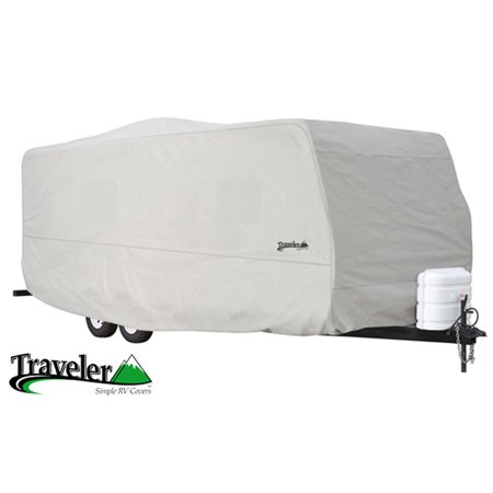 Traveler Travel Trailer Covers by Eevelle | Fits 24 - 27 Feet | (Travel Trailer Best Resale Value)
