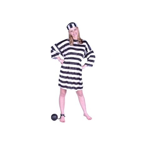 Halloween Convict Costumes (Lady Convict Costume)