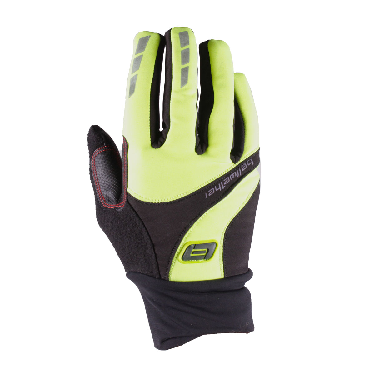 Bellwether Shield Full-finger Cycling Gloves Hi-Vis Yellow Small
