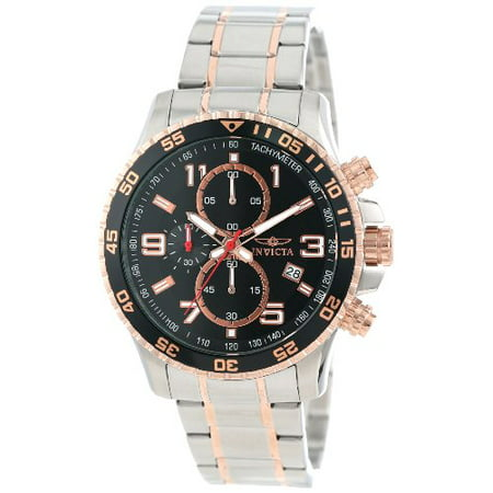 Invicta Men's Specialty Chronograph Two Tone Stainless Steel Watch 14877, 45mm