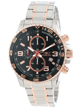 a68a554ca Product Image Invicta Men's Specialty Chronograph Two Tone Stainless Steel  Watch 14877, ...