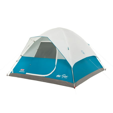 Coleman Longs Peak 6-Person Fast Pitch Dome Tent - High Peak Camping Tents