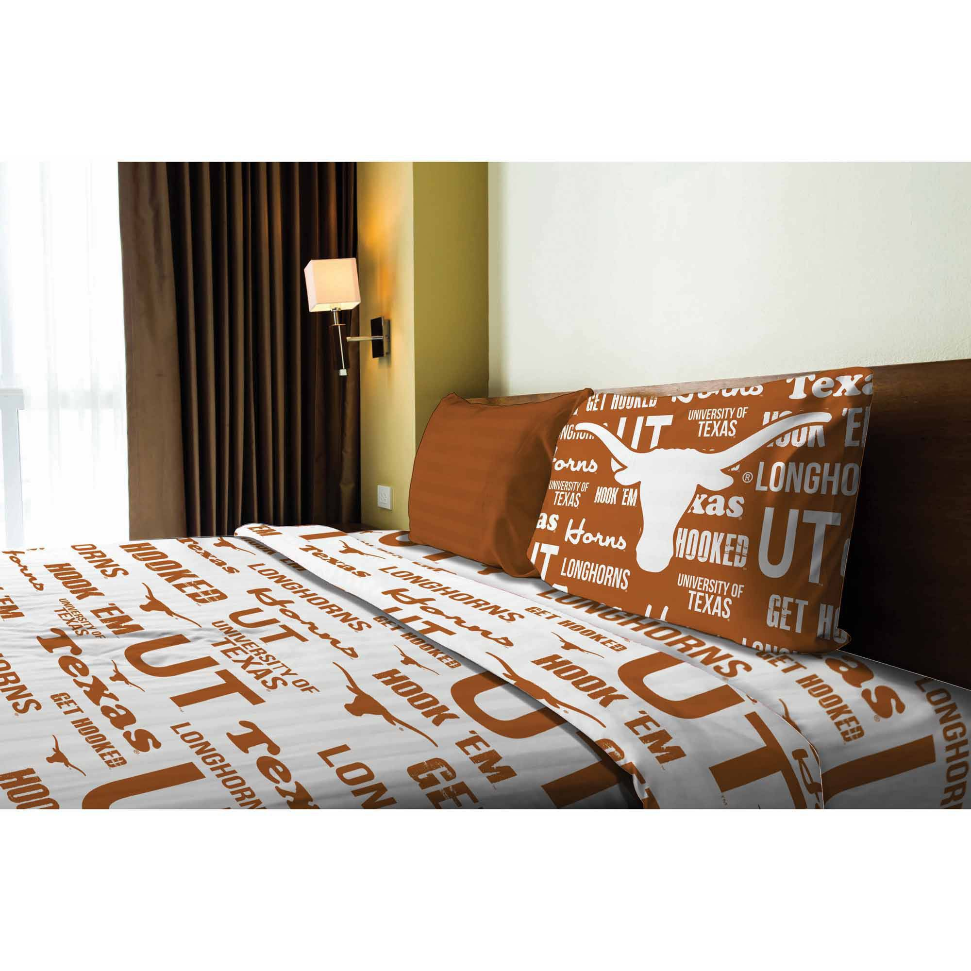 NCAA Texas Longhorns Sheet Set