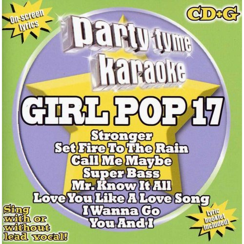 Party Time Karaoke: Girl Pop 17