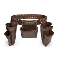 Estwing 94744 7-Pocket Leather Tool Pouch Apron