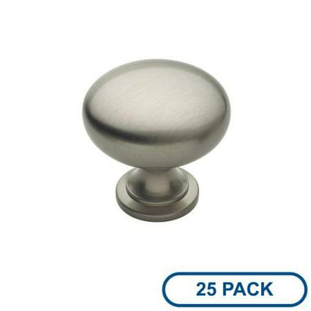 Amerock Bp1910 25Pack Allison Value Hardware 1 3 16 Inch Diameter Mushroom Cabin