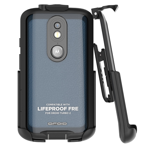 Belt Clip Holster for LifeProof FRE Case - Droid Turbo 2 (By Encased) (case is not included)