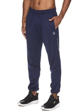 AND1 Men's and Big Men's Fleece Tech Pant, up to Size 3XL