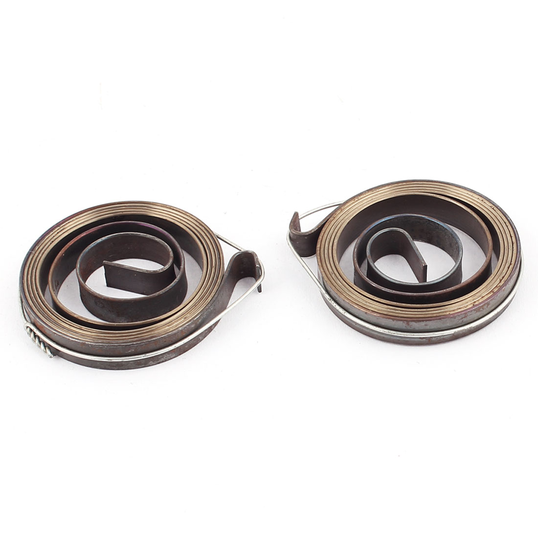 Unique Bargains 36 x 6mm Drill Press Quill Feed Return Coil Spring Assembly Bronze Tone 2 Pcs