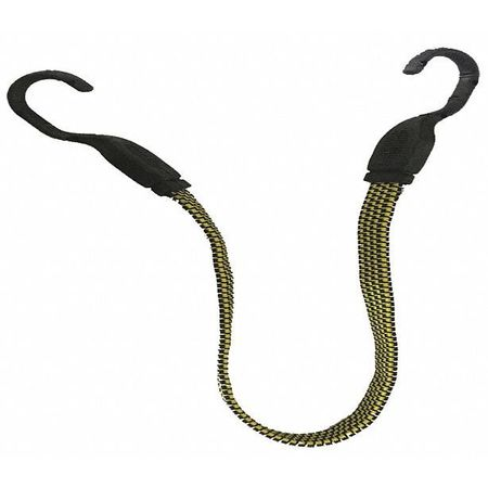 5JDR8 Hook Bungee Cord, 24 In.L - Pack of 6