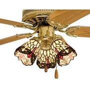 Hanginghead Dragonfly Fan Light Shade